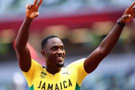 Rajai 110m lari gawang, Hansle Parchment sumbang emas kepada Jamaika