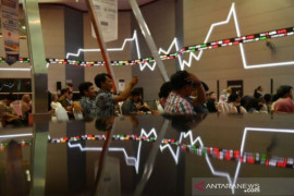 IHSG terkoreksi menyusul penurunan indeks utama Wall Street