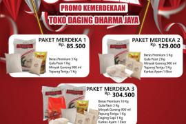 PD Dharma Jaya mengadakan promo produk hewan dan sembako hingga 31 Agustus