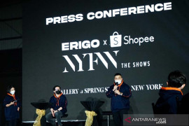 Sandiaga lepas Erigo x Shopee ke NYFW 2022, bangga bawa nama Indonesia