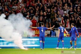 FIFA selidiki aksi pelecehan rasial di laga Inggris vs Hungaria