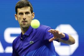Djokovic melaju ke babak ketiga US Open untuk bertemu Nishikori