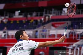 Indonesia amankan satu tiket semifinal tunggal putra SL4 Tokyo