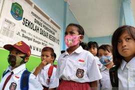 19 kecamatan di Nunukan diperbolehkan belajar tatap muka