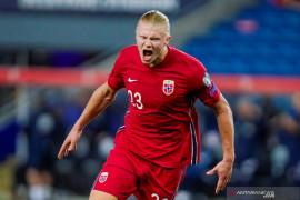 Erling Haaland merasa masih kurang banyak mencetak gol