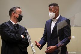Jerome Boateng divonis bersalah atas kekerasan terhadap mantan kekasih