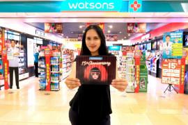 Cara Watsons Indonesia rayakan hari jadi ke-15