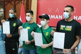 Persebaya turunkan empat pemain asingnya lawan Tira Persikabo