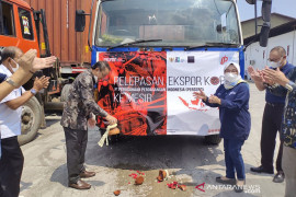 PPI ekspor kopi sebanyak 100 ton ke Mesir