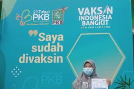 PKB dan Pemkab Lampung Timur gelar vaksinasi di Pondok Pesantren Darussalam Braja Dewa  Page 3 Small