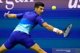"Djokovic mengaku ""lega"" gagal sapu bersih Grand Slam tahun ini"
