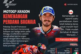Kemenangan perdana Bagnaia