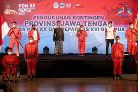 Jawa Tengah targetkan 45 medali emas PON XX/2021 Papua