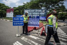 Polisi berikan diskresi ganjil-genap bagi peserta tes CPNS di TMII