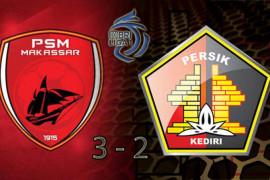 PSM menangi laga dramatis kontra Persik 3-2