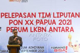 Perum LKBN ANTARA berangkatkan tim peliputan PON XX PAPUA Page 1 Small