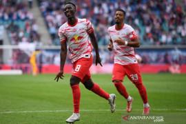Leipzig kembali ke jalur kemenangan, Wolfsburg telan kekalahan perdana