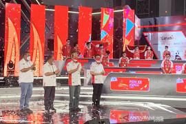 Ekshibisi esport PON Papua ditutup, undang 7,7 juta penonton virtual