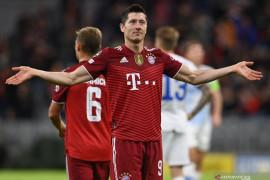 Lewandowski sumbang dua gol, Bayern menang telak 5-0 atas Dynamo Kiev