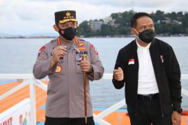 Tinjau 3 Venue PON Papua, Kapolri Pastikan Prokes dan Pengamanan