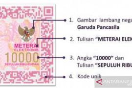 Seminggu, pembubuhan perangko elektronik kontribusi sektor ESDM