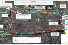 DKI sudah rekayasa lalu lintas Jalan I Gusti Ngurah Rai selama kurang lebih dua bulan