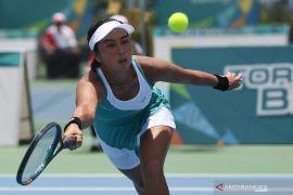 Priska Nugroho tantang Aldila Sutjiadi di final tenis