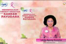 SADARI cegah kanker payudara ditemukan pada stadium lanjut