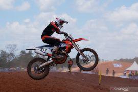 Crosser DKI Jakarta Delvintor rebut emas motorcross 250cc PON Papua