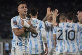 Argentina bungkam Uruguay 3-0