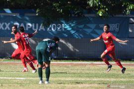Jelang final sepak bola putra, Papua akui pertahanan Aceh kuat