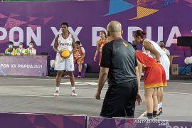 Tim basket 3x3 putri Papua ke semifinal