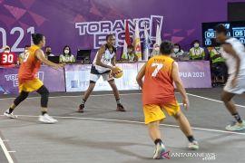 Tim bola basket 3x3 putri Papua ke final PON Papua