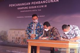 Gubernur DKI resmikan pembangunan Kampung Susun Kunir di Jakbar