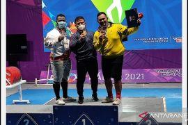 PON Papua - Lifter Kaltara Sumbang Satu Medali Perunggu