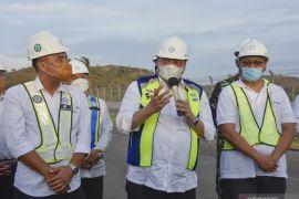 Minister Hartarto pushes vaccinations in Mandalika ahead of WSBK