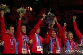 Indonesia dominasi daftar juara Piala Thomas