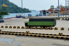 Sektor logistik penyeberangan Merak, paling bertahan saat pandemi