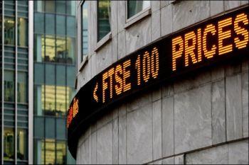 Saham Inggris naik dengan Indeks FTSE 100 melonjak 1,55 persen