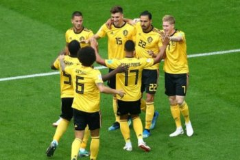 Belgia finis di peringkat ketiga, setelah taklukan Inggris