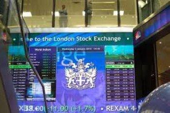 Saham Inggris merosot dengan indeks FTSE 100 anjlok 3,38 persen