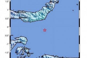 Gempa magnitudo 5 guncang Bolaang Uki Sulawesi Utara