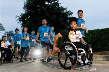 40 disabled athletes join marathon race in Bangkok