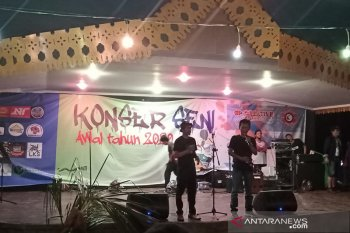 """Kolaborasi lintas seniman di ajang """"konser seni"""" Bengkulu"""