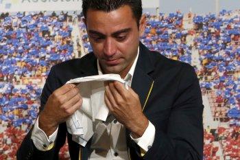 Legenda Spanyol Xavi Hernandez positif terjangkit COVID-19