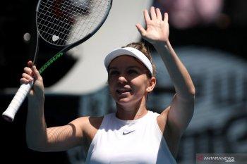 Juara bertahan Wimbledon Simona Halep melaju ke perempat final Prague Open