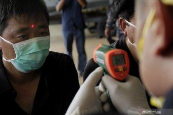 WN China terdampar jalani pemeriksaan suhu tubuh