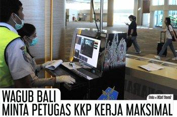 WAGUB BALI MINTA PETUGAS KKP KERJA MAKSIMAL CEGAH VIRUS CORONA