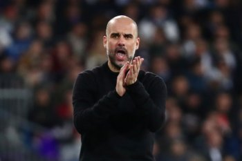 Guardiola  mengaku optimistis City bisa berlaga di Liga Champions
