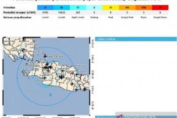 Gempa Sukabumi, guncangannya juga dirasakan di Bogor